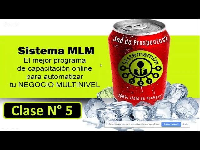 MULTINIVEL  EN INTERNET (SISTEMA MLM) 💻 - COMO CONFIGURAR UN ROBOT DE VENTAS