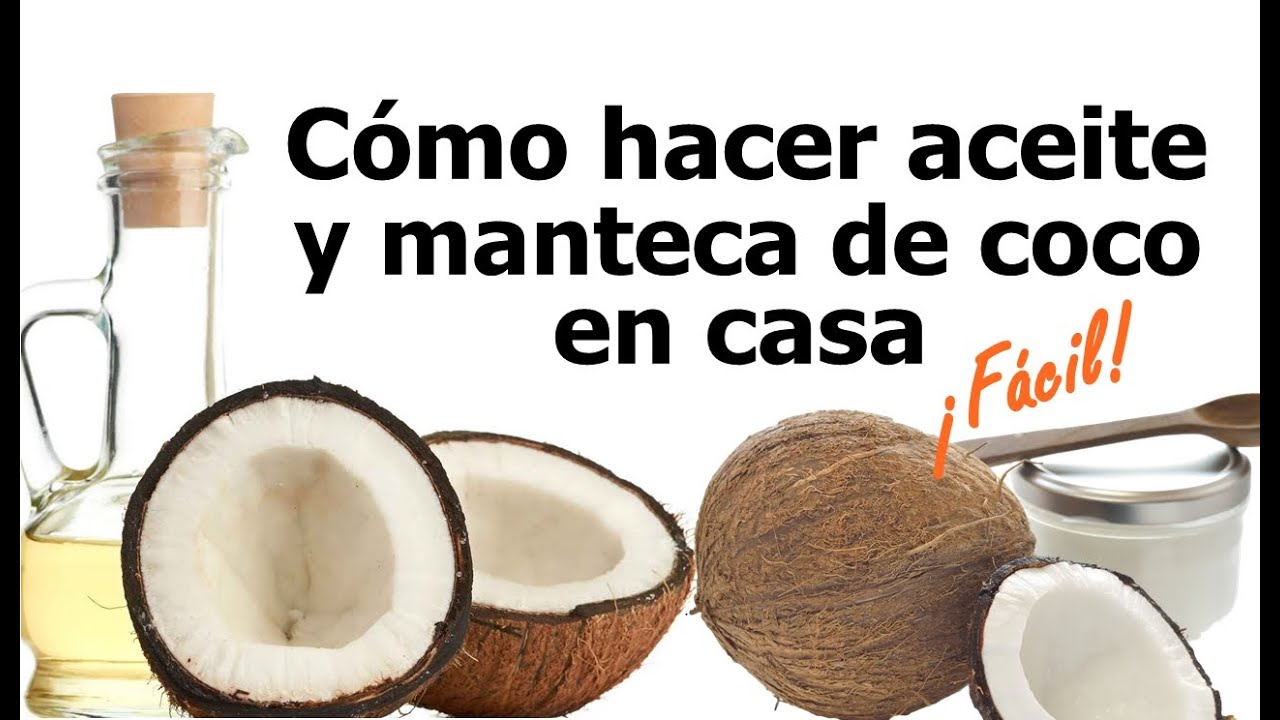 C mo hacer aceite y manteca de coco en casa f cil y con for Ceramica artesanal como se hace