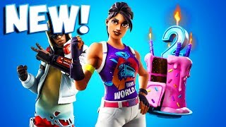 FORTNITE BIRTHDAY 2 EVENT AND CHALLENGES LEAKED