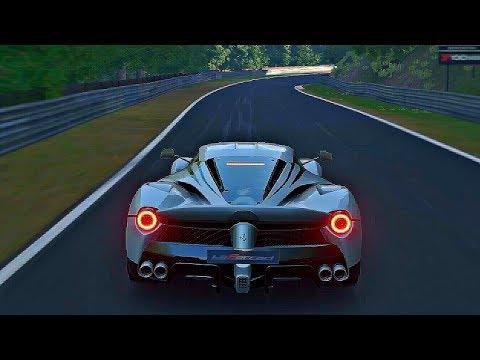 Gran Turismo Sport - Gameplay Ferrari LaFerrari @ Nurburgring Nordschleife [1080p 60fps]
