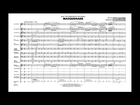 Клип Andrew Lloyd Webber - Masquerade