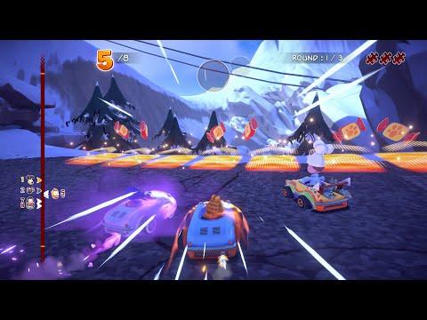 Garfield Kart Furious Racing Gameplay