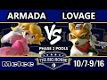 TBH6 SSBM - [A] Armada (Peach) Vs. Lovage (Fox) - Smash Melee Pools