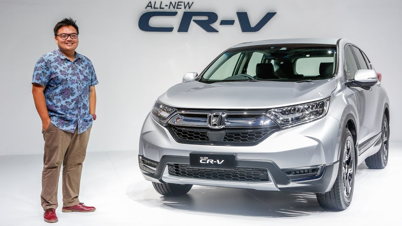 first look 2017 honda cr v 1 5 turbo exterior interior in malaysia youtube. Black Bedroom Furniture Sets. Home Design Ideas