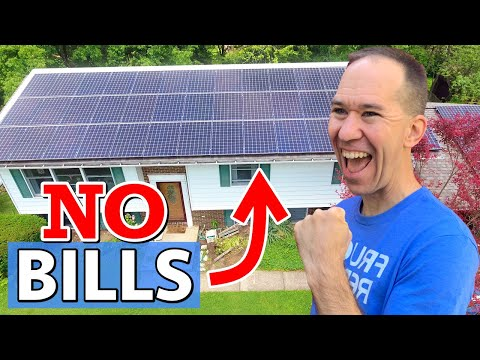 I Installed a Power Plant Myself | HUGE DIY Solar Panel System