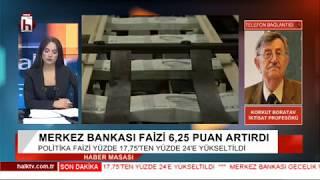 Merkez Bankası Faizi fırlattı, dolar düşüşe geçti! Ekonomi rahatlar mı? / Korkut Boratav
