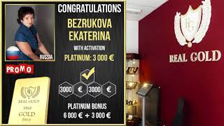 Real Gold отзыв клиента Екатерина Безрукова Россия