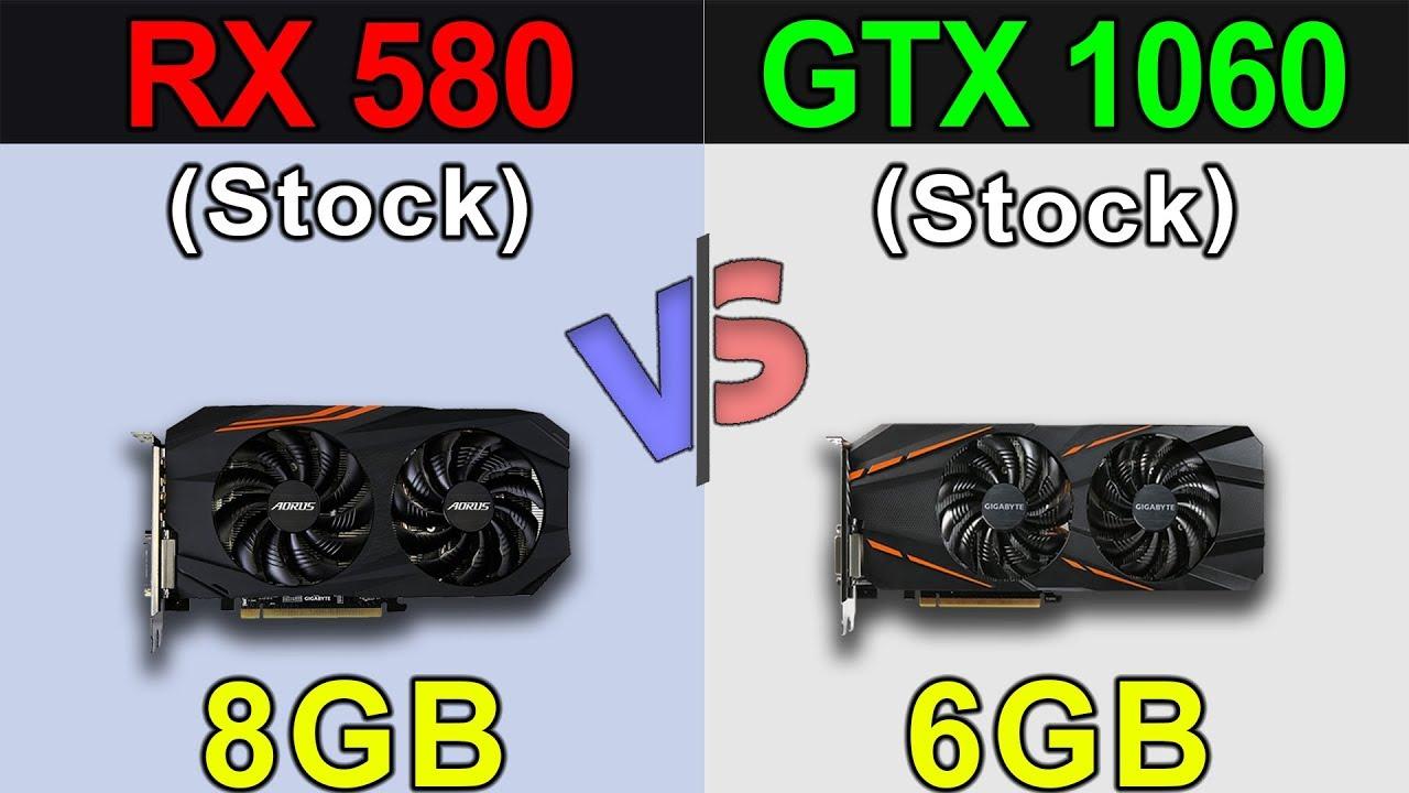 Rx 580 8gb Vs Gtx 1060 6gb New Games Benchmarks Youtube