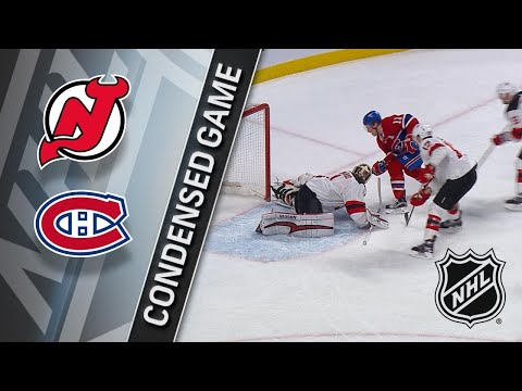 04/01/18 Condensed Game: Devils @ Canadiens