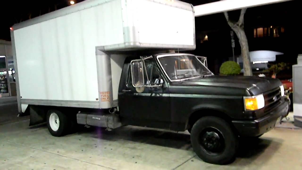 My Box Truck Ex U Haul Diesel Ford F350 W International