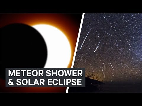 Thumbnail: How to watch this month's meteor shower and solar eclipse