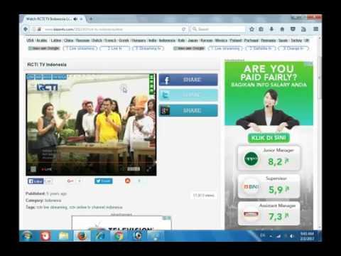 Nonton RCTI TV Online Channel Indonesia HD Tanpa Buffering