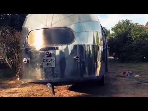 Wunderstudio - Airstream Liner 22' - 1948 After Being Polished