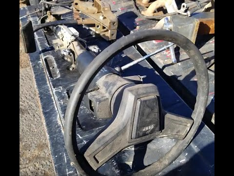 tilt-steering-column-from-a-jeep-comanche-for-goldie