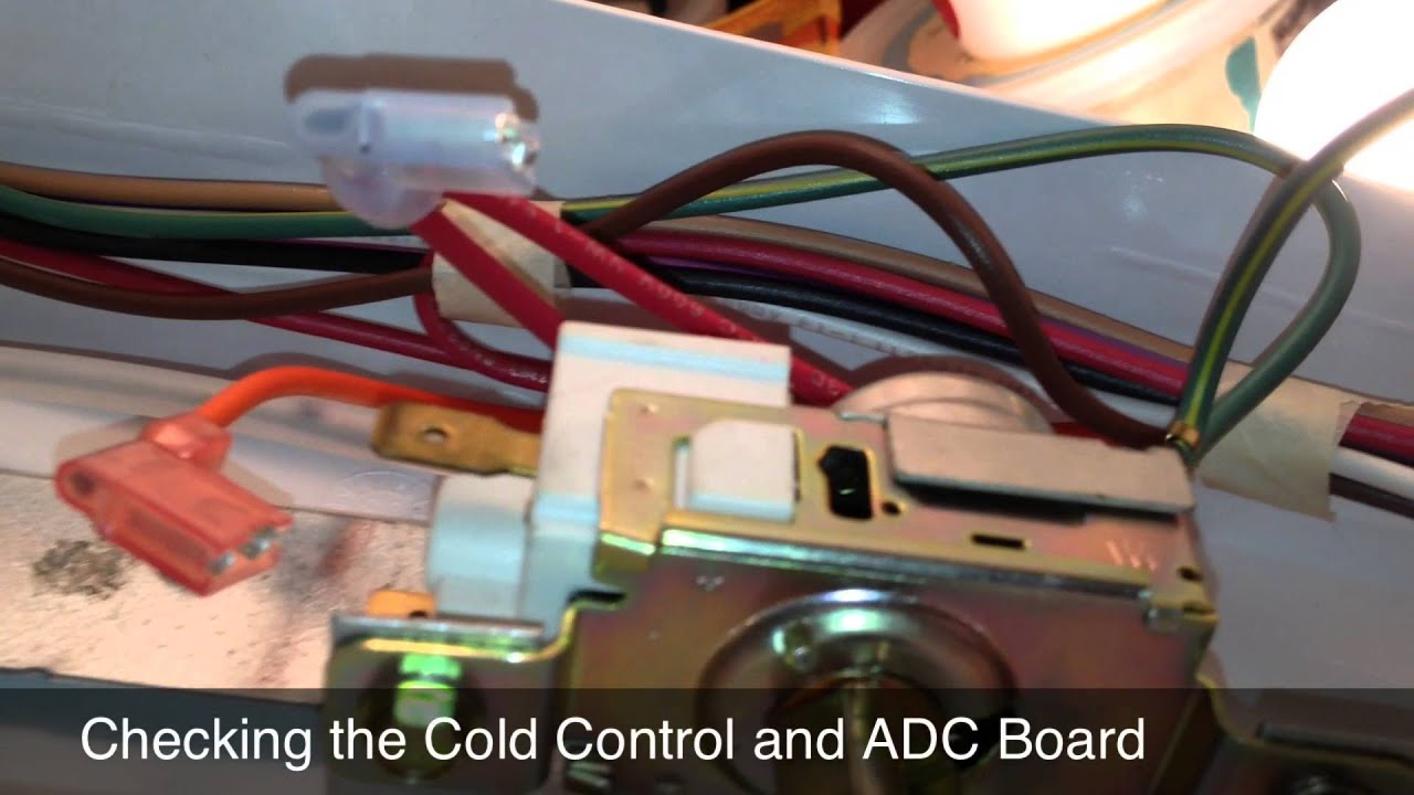 maxresdefault fixing a kenmore (whirlpool) refrigerator that intermittently mini fridge thermostat wiring diagram at arjmand.co