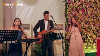 Misty by Ywenna (feat John Lye and violinist) - MERRY BEES (Singapore Live Band)