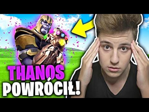 🔴THANOS POWRÓCIŁ W FORTNITE JACOB