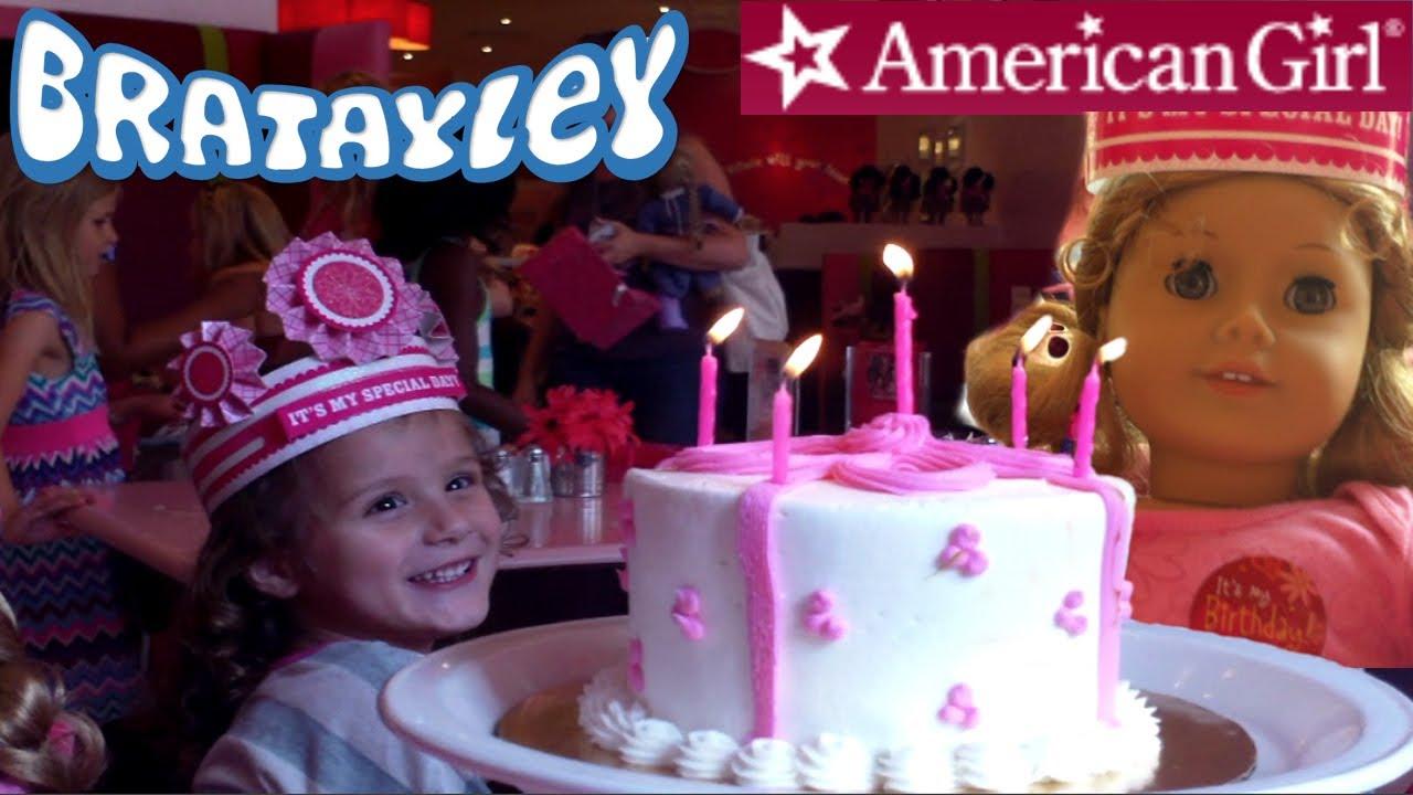American Girl Store Birthday Cake