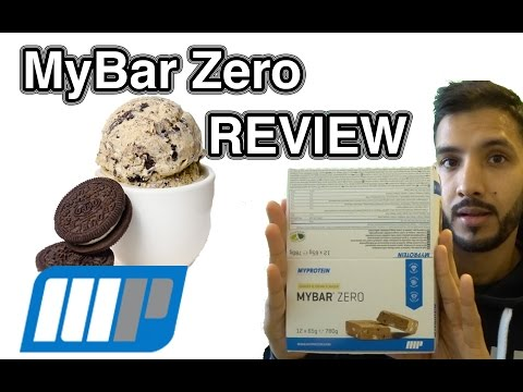MyProtein My Bar Zero Review | Cookies & Cream |