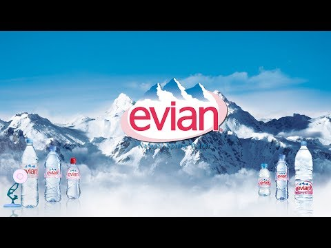 1132-Evian Mineral Water Spoof Pixar Lamps Luxo Jr Logo