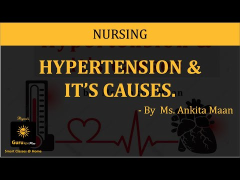 What is hypertension? What causes hypertension?