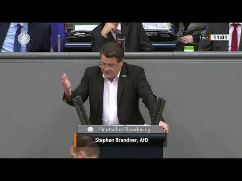 Bundestag: Stephan Brandner, MdB der AfD zerlegt den Lockdown-Irrsinn der Bundesregierung