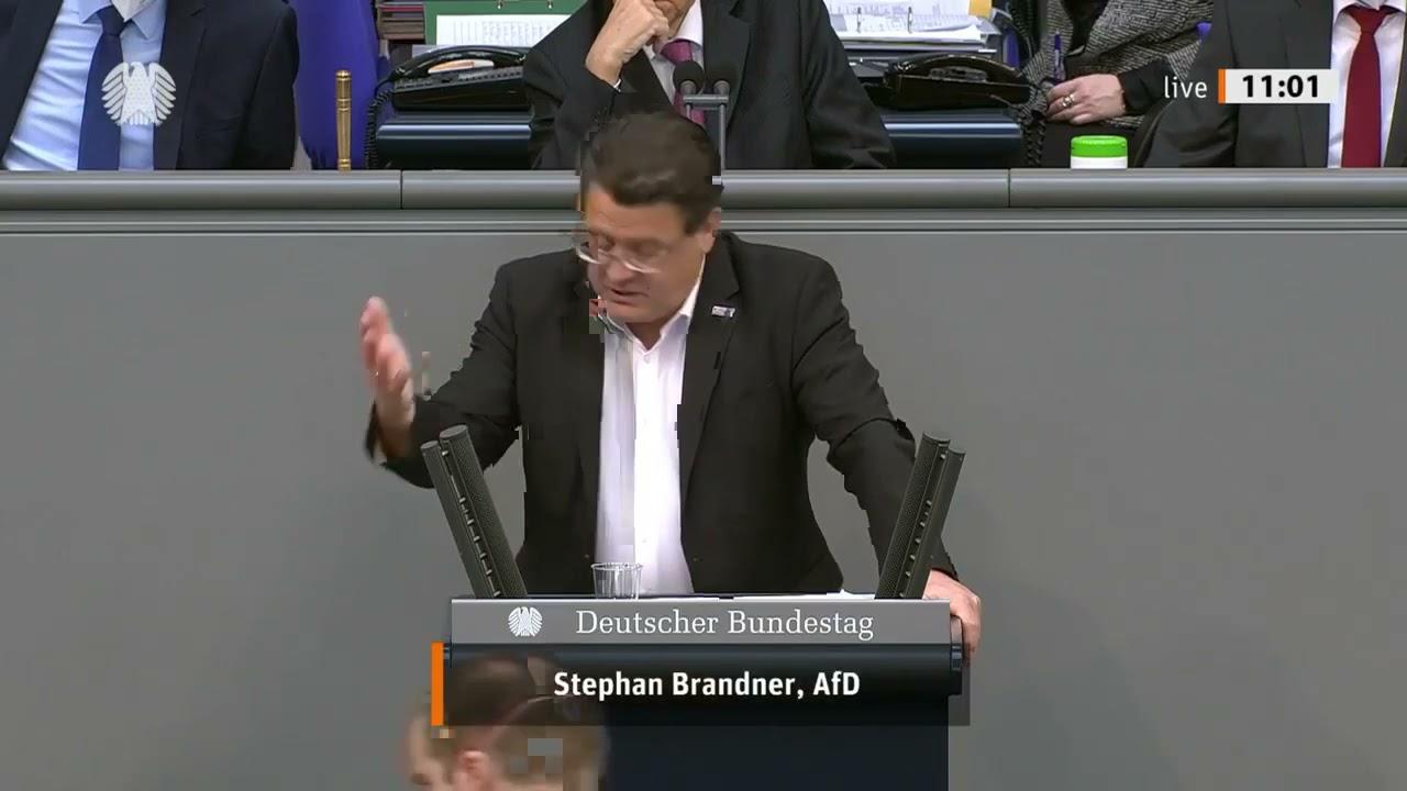 Bundestag: Stephan Brandner, MdB der AfD zerlegt den Lockdown-Irrsinn der Bundesregierung!