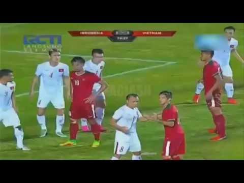 Gol Spektakuler Zulham Zamrun | Match Indonesia vs vietnam 9 oktober 2016