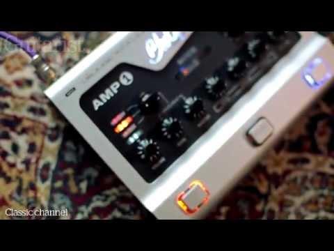 BluGuitar Amp1 stompbox-sized amp review demo