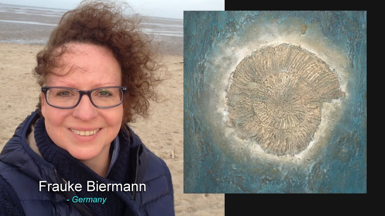 Frauke Biermann / the elements earth, metal, wood, air and water flow into most of my paintings.