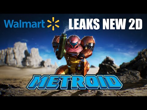 Walmart Possibly LEAKS New 2D Metroid For Switch