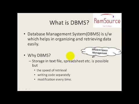 1 SQL Programming In Tamil - Introduction To RDBMS - YouTube