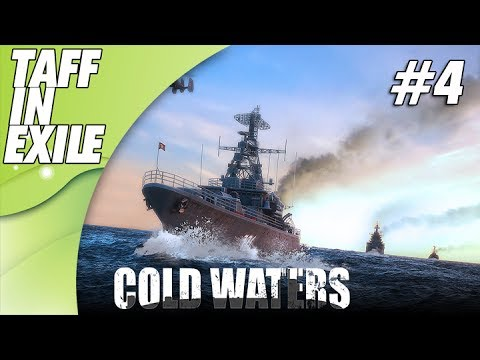 Cold Waters | New Cold War Sub Game | Hitting a Resupply Convoy