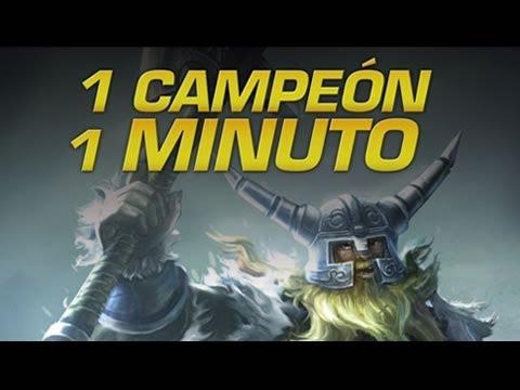 Olaf - 1 CAMPEÓN EN 1 MINUTO - League of Legends Express