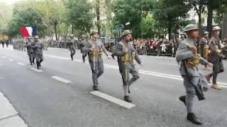 Lisboa, Cerimónia Militar de Celebração do Armistício, dia 4 Novembro (2018), na Av. da Liberdade.