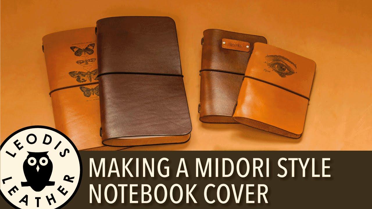 Midori Style Traveler's Notebook Cover