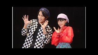 中川大志&杉咲花、仲良くランウェイ!『花のち晴れ』コンビに歓声.