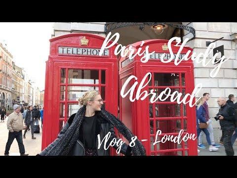 Paris Study Abroad // Vlog 8 // LONDON