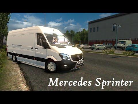 Mercedes-Benz Sprinter - Euro Truck Simulator 2 V1.25 [ETS2]