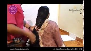 Repeat youtube video Heavy Oiling & Hair Massage by Her Sister ( Thigh Length Hair)