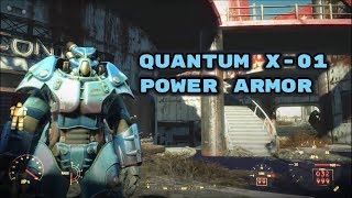 Fallout 4 Nuka-World - Quantum X-01 Power Armor (Find all Star Cores)