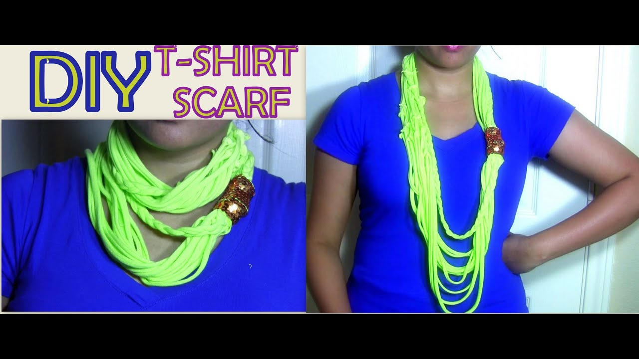 Diy And Craft Ideas Infinity Scarf