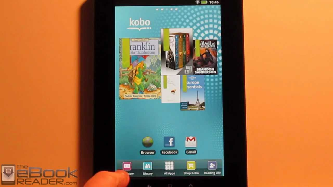 Review: Kobo Vox as an eReader w/ Kobo's App, Kindle, Nook, Zinio, Press  Reader