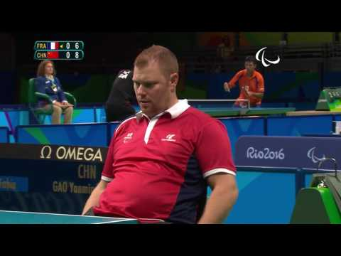 Table Tennis | Men's Singles - Class 2 Quarterfinal 1 | Rio 2016 Paralympic Games