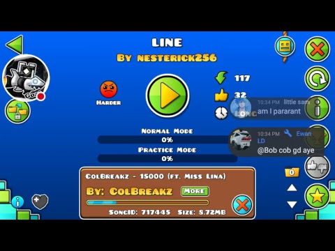Level Requests | Geometry Dash | Sub Goal: 1.6K