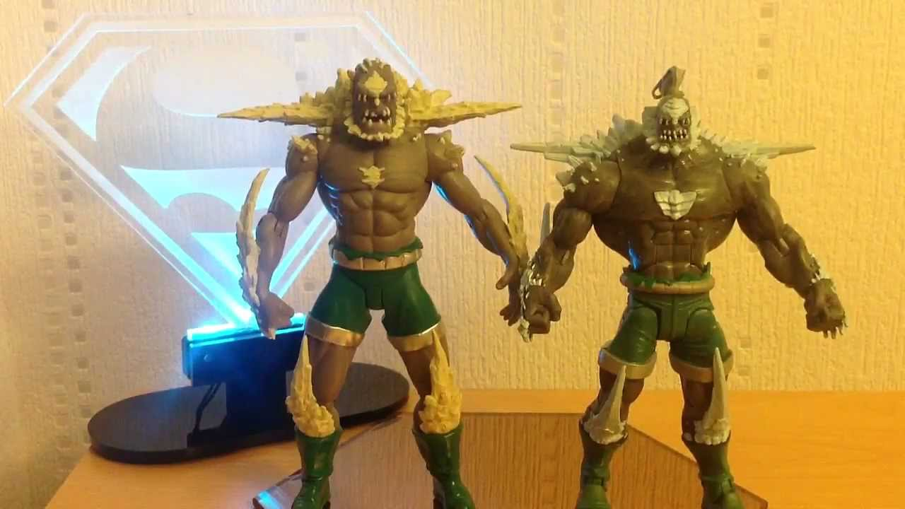 Dc Direct Doomsday Action Figure Review Youtube