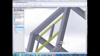 How To Design Table Using Solidworks Weldment