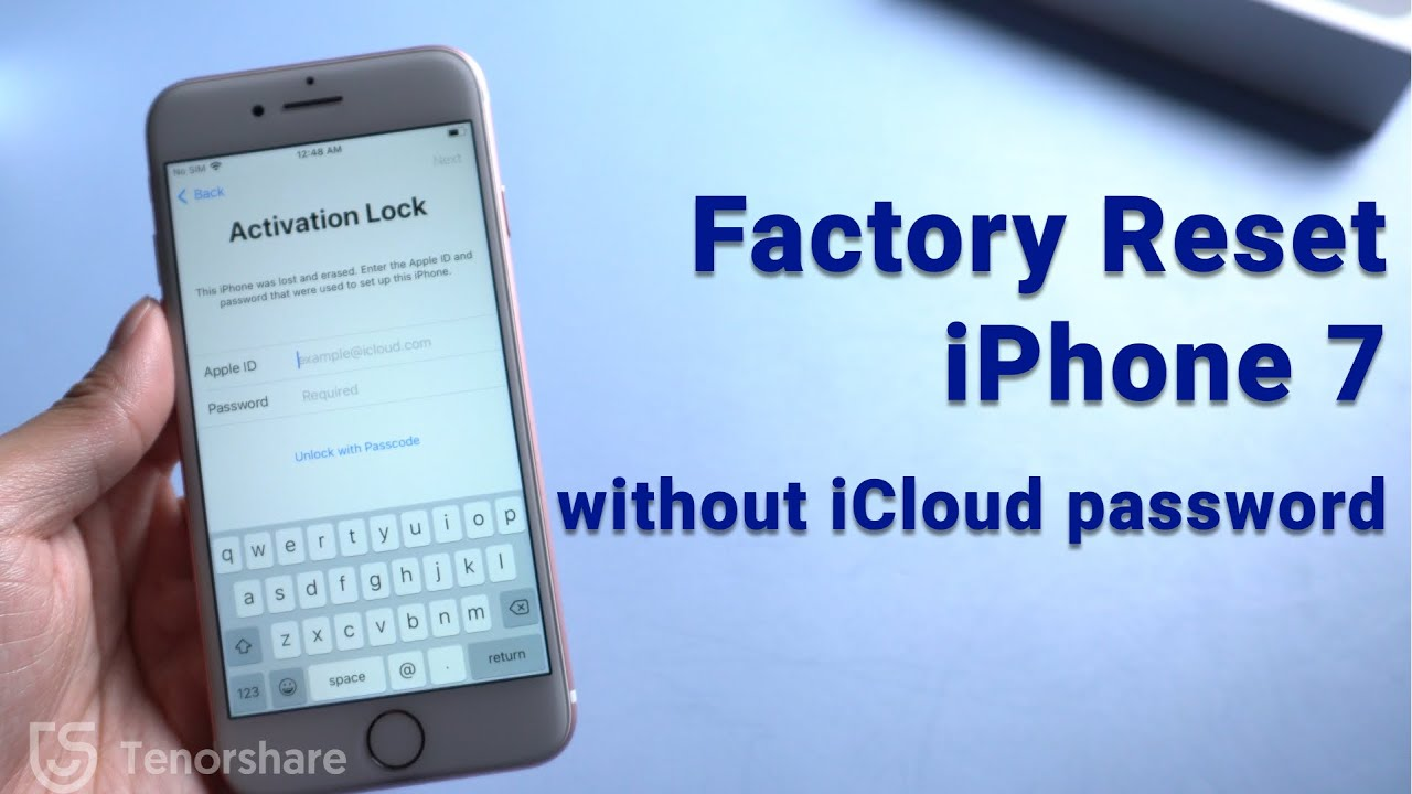 Factory Reset iPhone 11 without iCloud Password