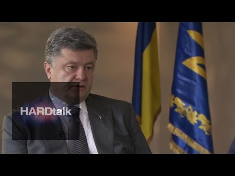 Ukraine President Petro Poroshenko - BBC HARDtalk