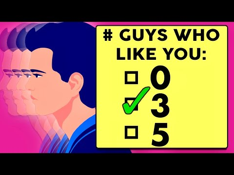 How Many Guys Like You? Love Personality Test | Mister Test